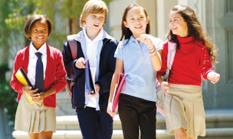 School Kids Banner
